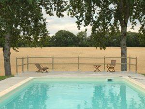 Chambre d'hôte avec piscine